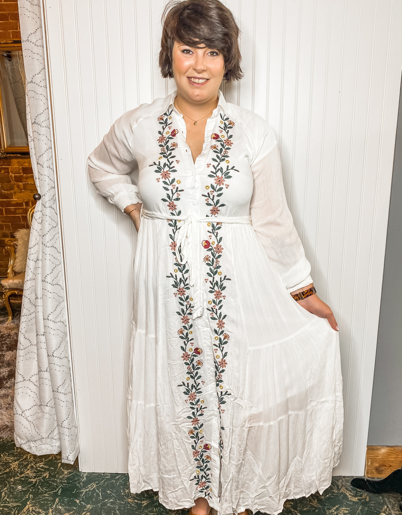 Westley Embroidered Dress