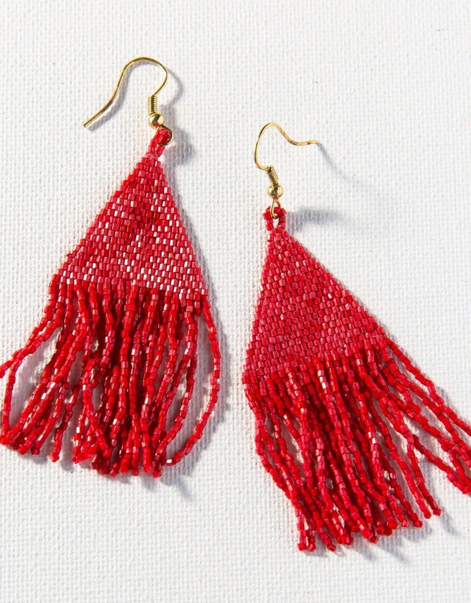 Scarlet Petite Fringe Earring