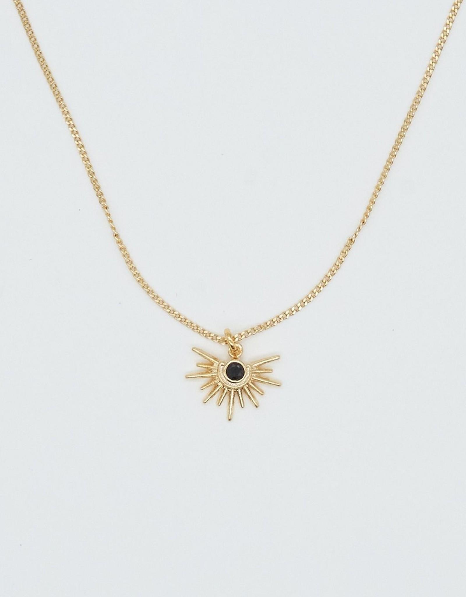 Crystal Sun Necklace
