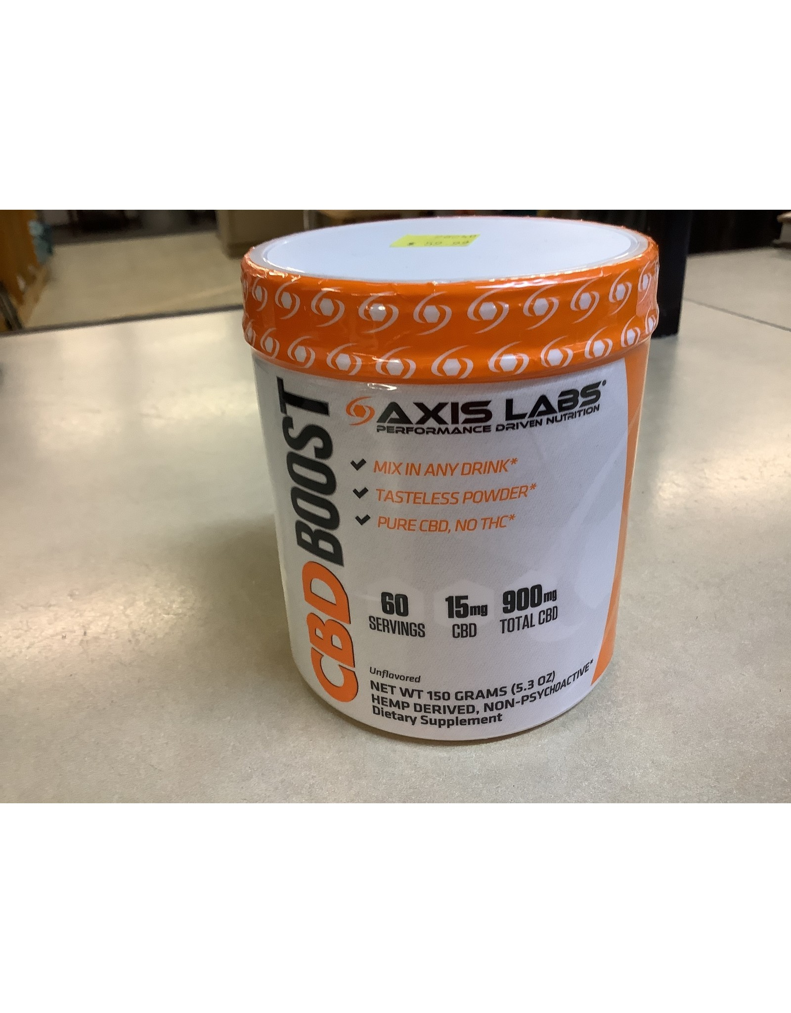 Axis Labs CBD Boost 60 Serve 15 mg per serving