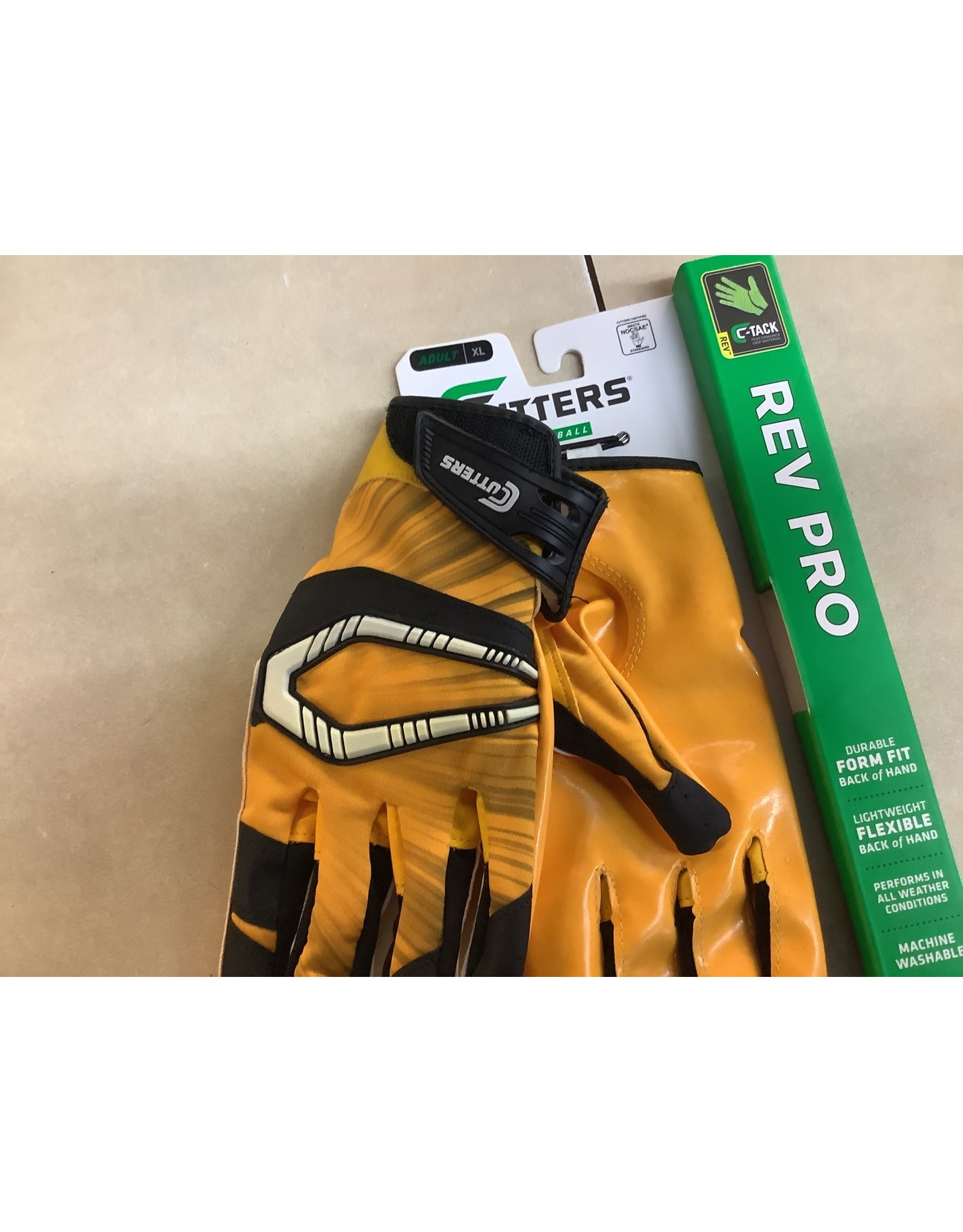 Cutter Cutters Rev Pro Football Gloves