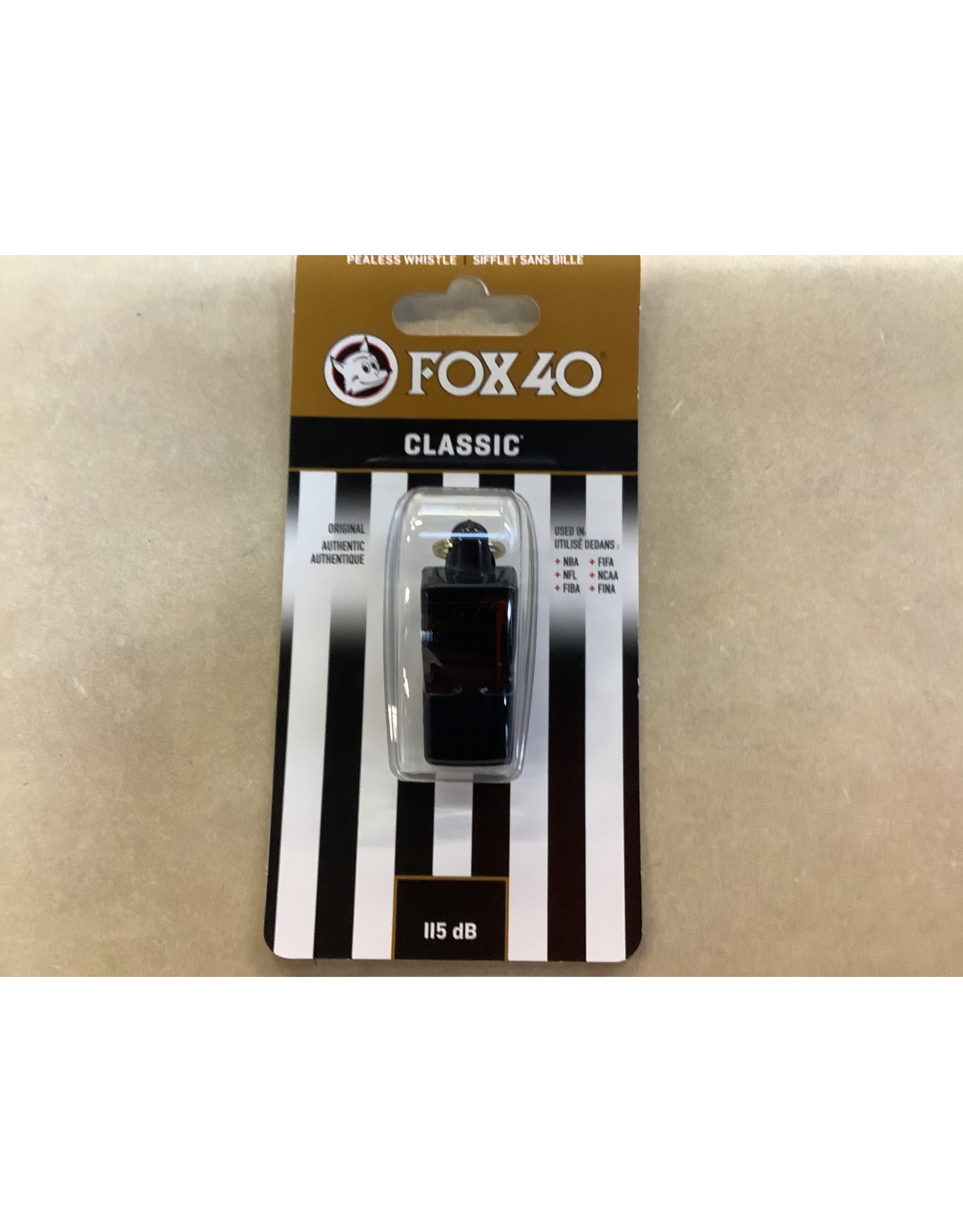 Fox 40 Fox 40 Classic Official WhistlePlastic