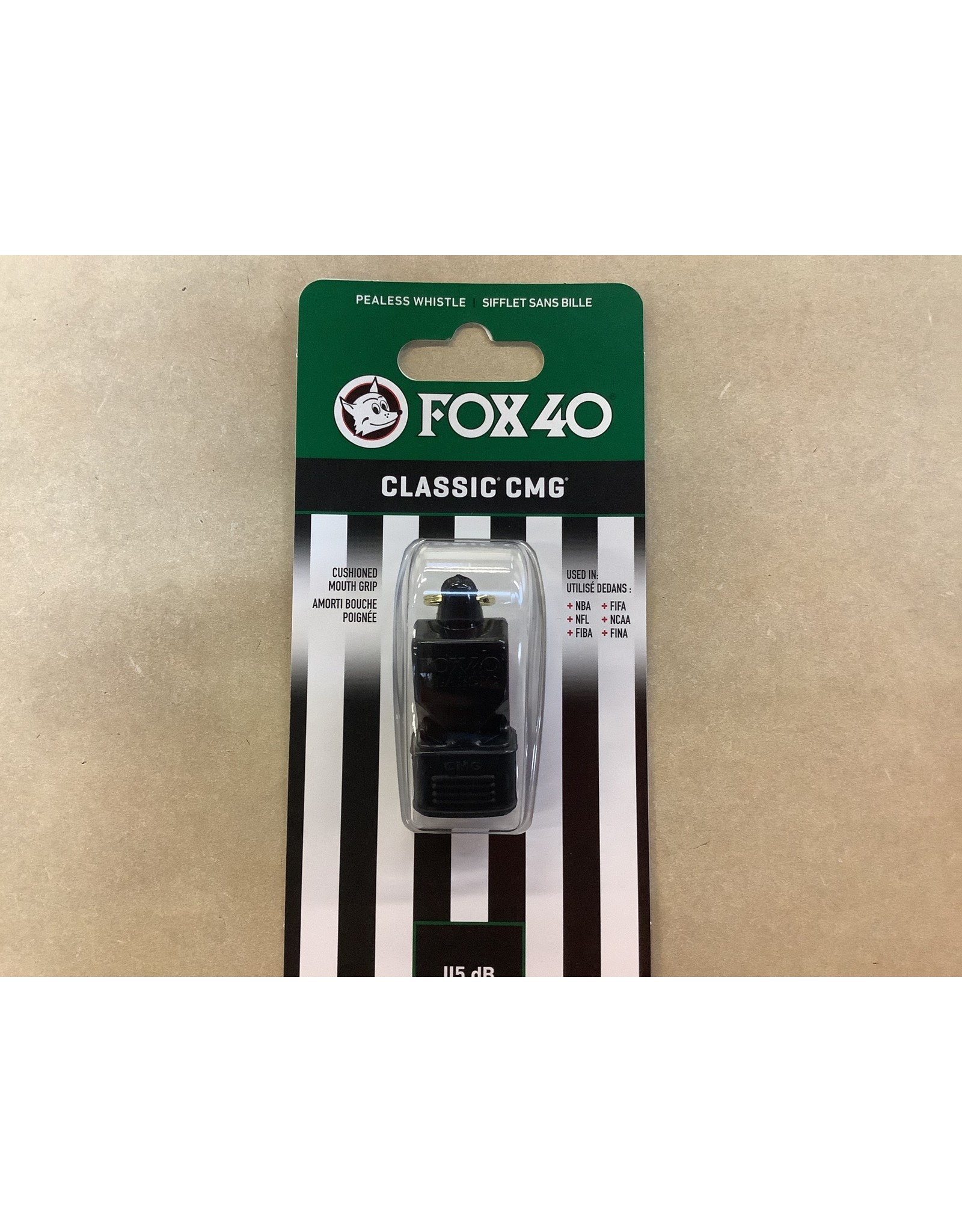 Fox 40 Fox 40 Classic CMG Official Whistle Plastic