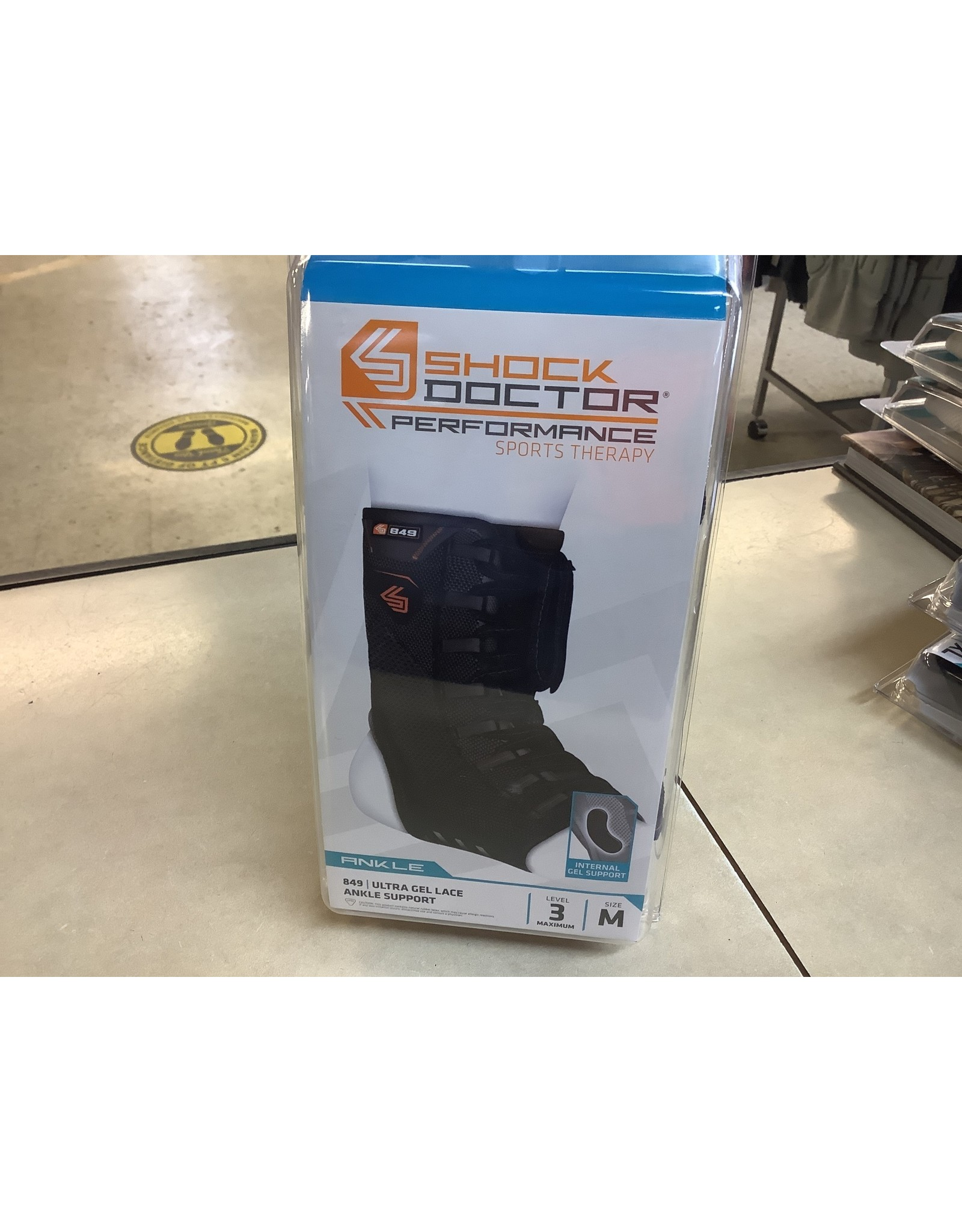 Shock Doctor 849 Ultra Gel Lace Ankle Support