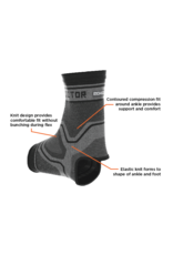 Shock Doctor 2040 Compression Knit Ankle Sleeve