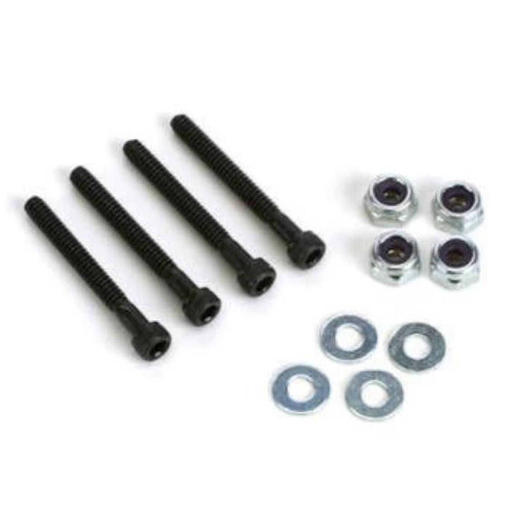 Dubro DUB179 Dubro Socket Heavy Duty Bolts & Lock Nut 6-32 x 1