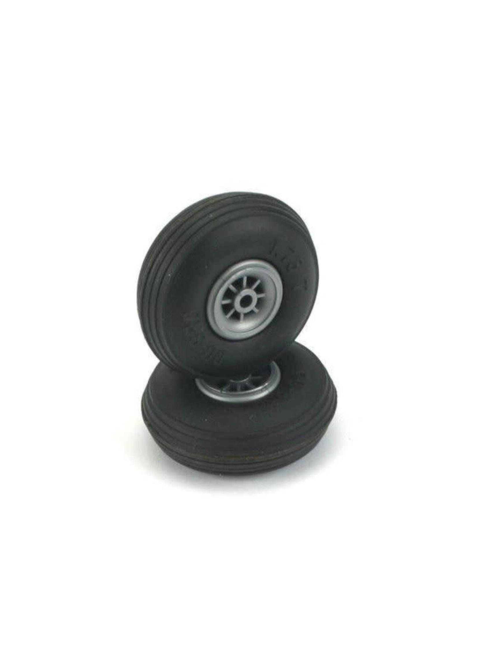 Dubro DUB225T Dubro Treaded Wheels, 2-1/4''