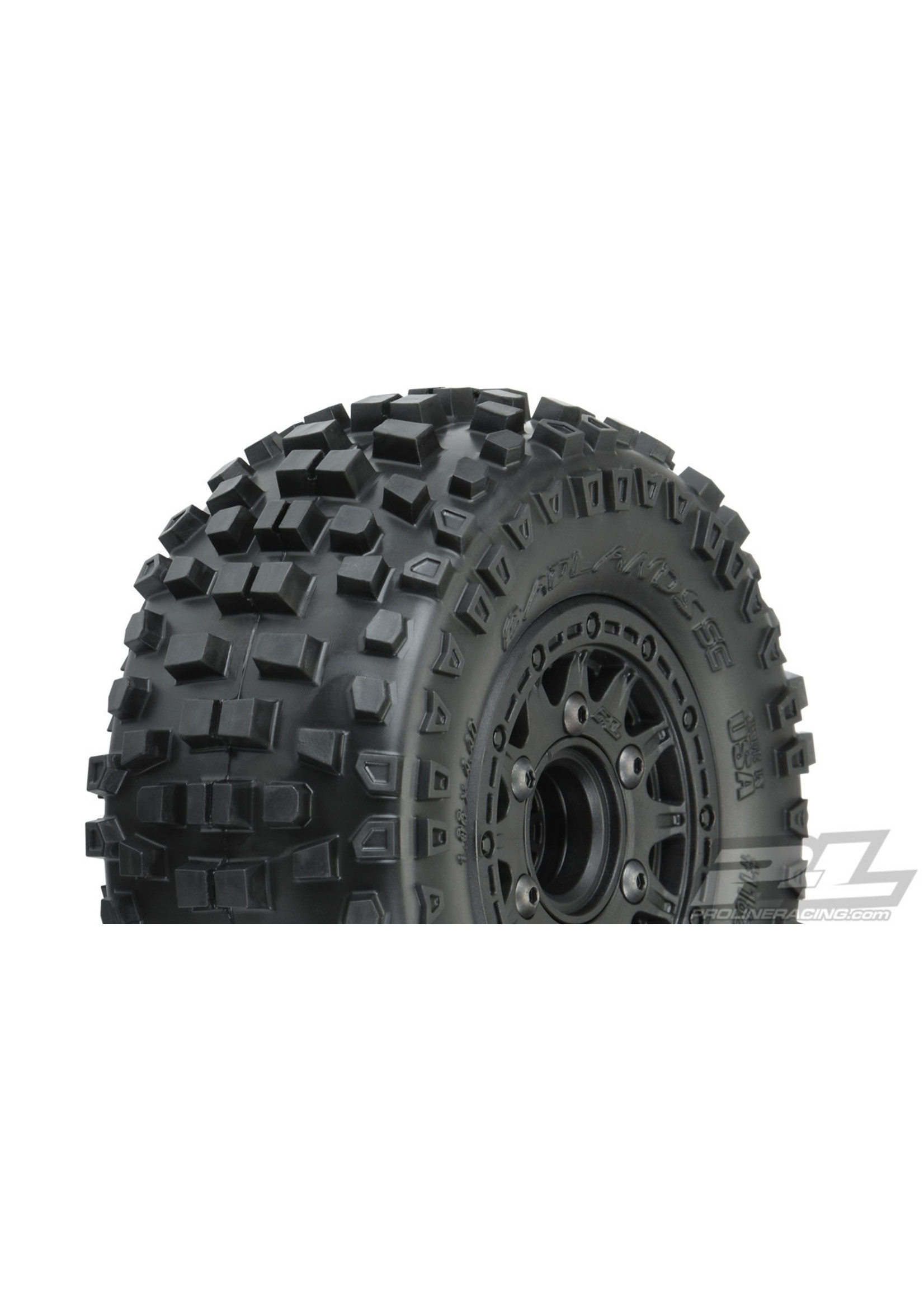 Pro-Line Racing PRO1182-10 Pro-Line Badlands SC MTD Raid 6x30 Slash 2wd/4WD F/R