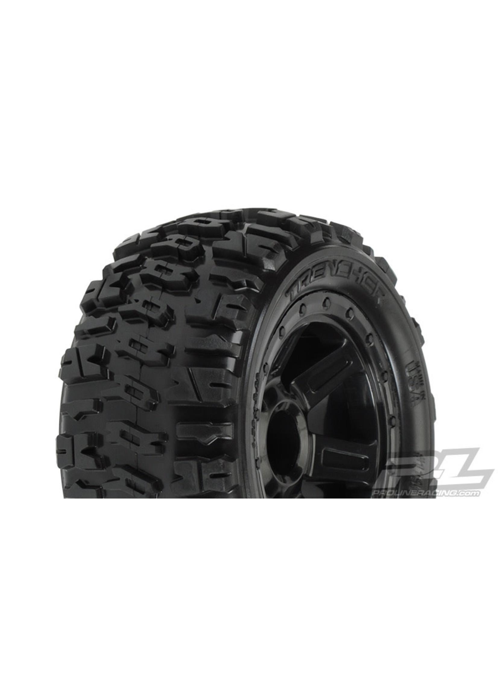 Pro-Line Racing PRO1194-11 Pro-Line 1/16 Trencher 2.2 M2 Tire Mnt Desperado Whl:ERevo