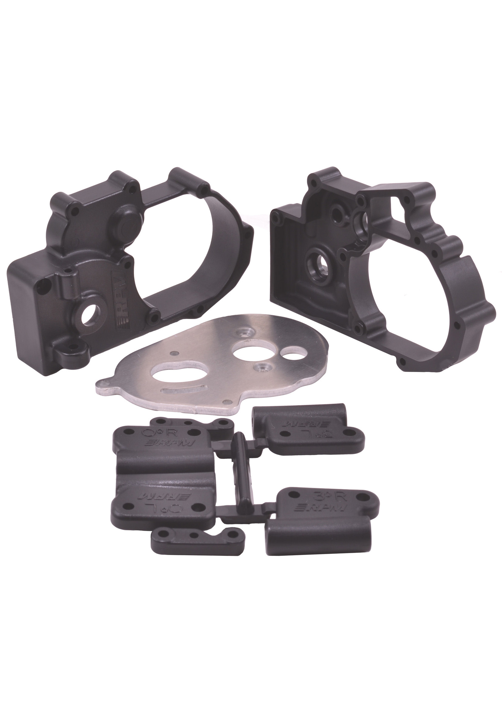 RPM RPM73612 RPM Black Gearbox Housing and Rear Mounts for Traxxas 2wd Vehicles