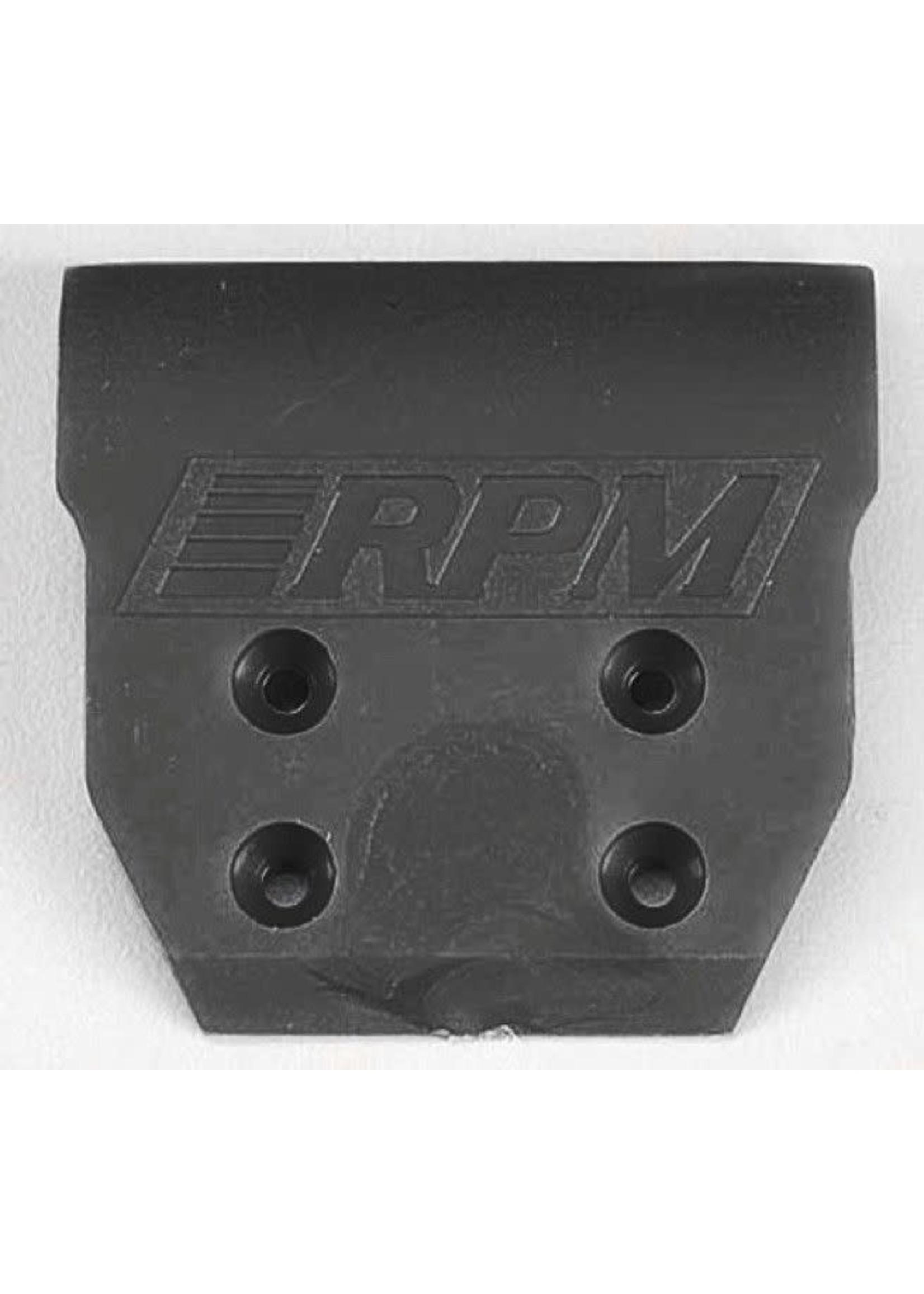 RPM RPM80232 RPM Front Bumper, for Associated B4/T4/GT2 & HPI Firestorm Mini, Black