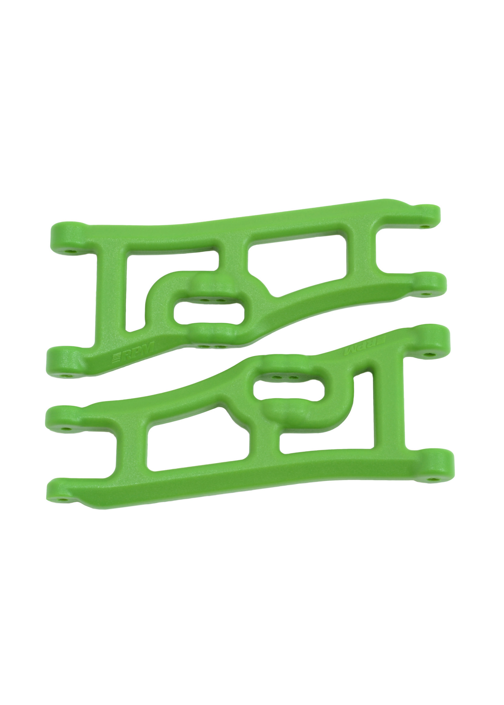 RPM RPM70664 RPM Wide Front A-arms for the Traxxas e-Rustler & Stampede 2wd - Green