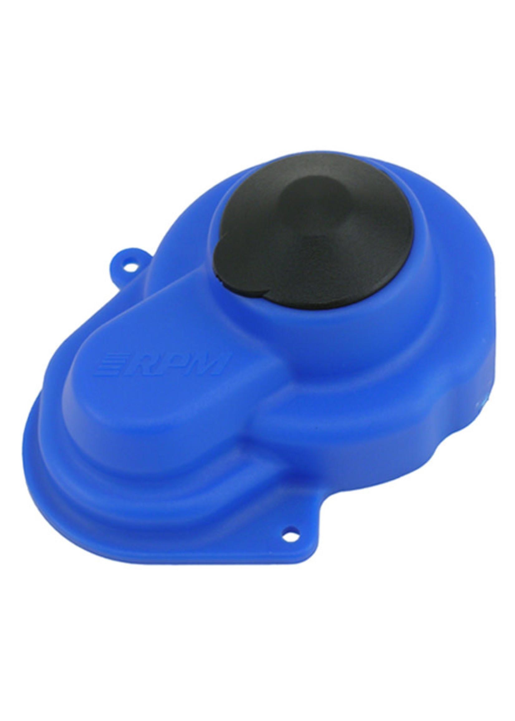 RPM RPM80525 RPM Sealed Gear Cover, for Traxxas e-Rustler/Stampede 2wd/Bandit/Slash, Blue