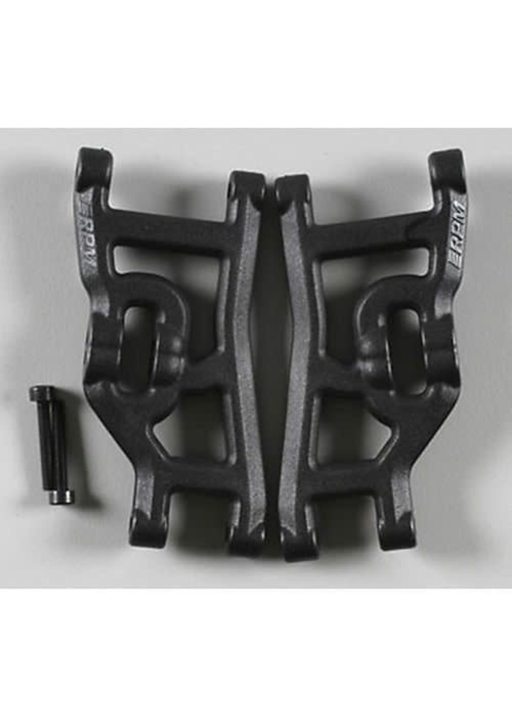 RPM RPM80492 RPM Front A-Arms, for Traxxas Nitro, Rustler, Stampede, Sport, Black