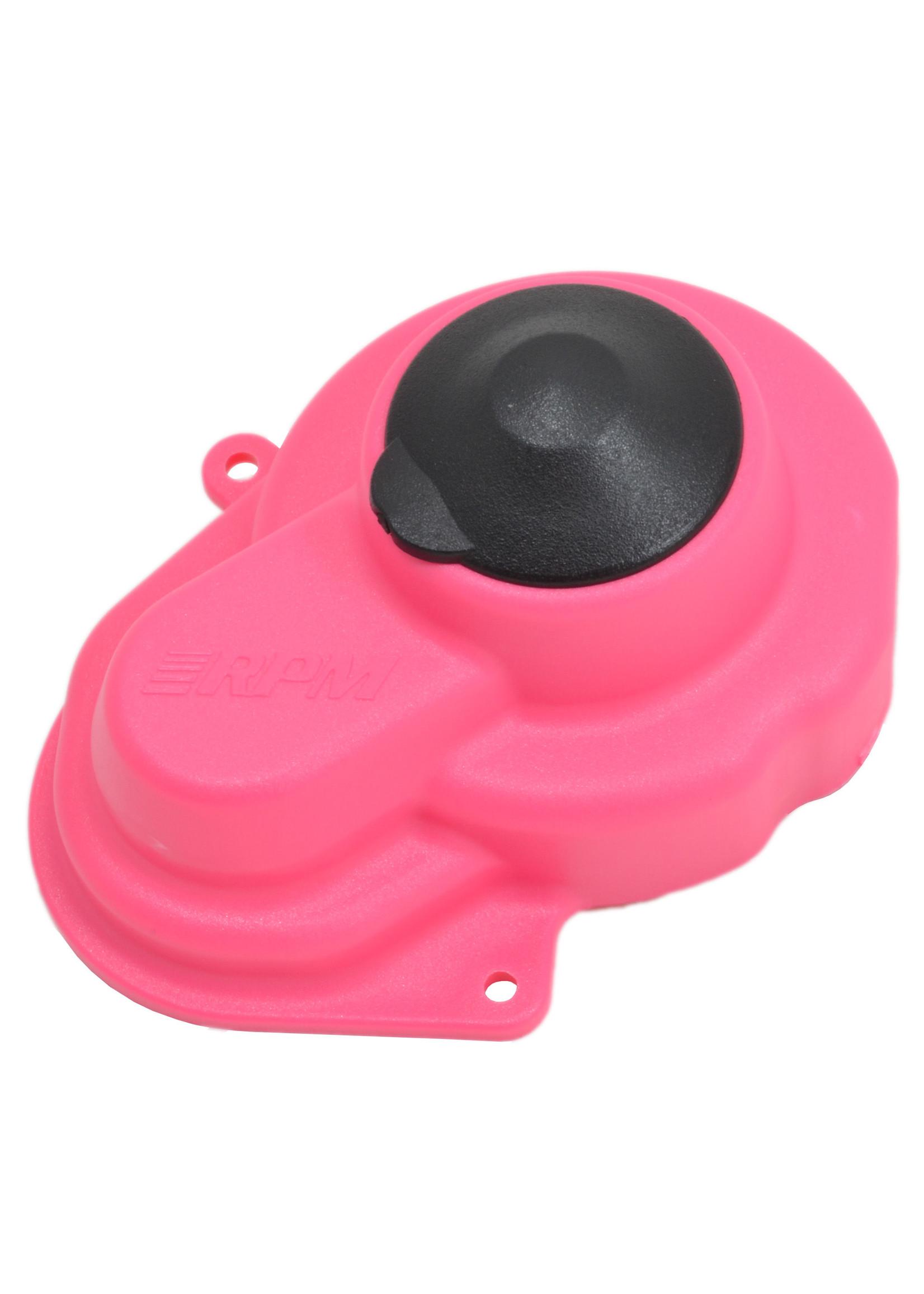 RPM RPM80527 RPM Sealed Gear Cover, for Traxxas Slash 2wd/eRustler/Stampede/Bandit, Pink