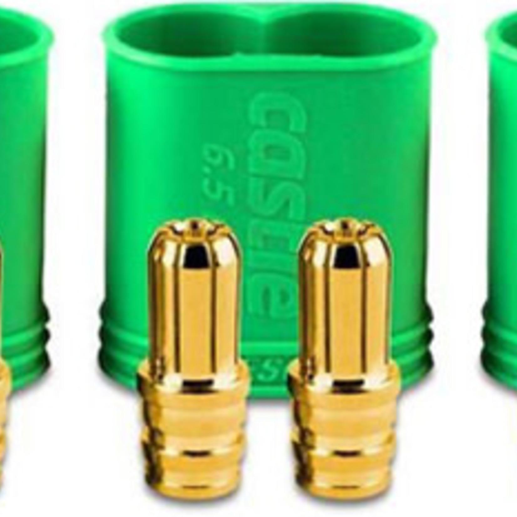 Castle Creations CSE011-0068-00 Castle Creations Polarized Bullet Conn Male, 6.5mm Set