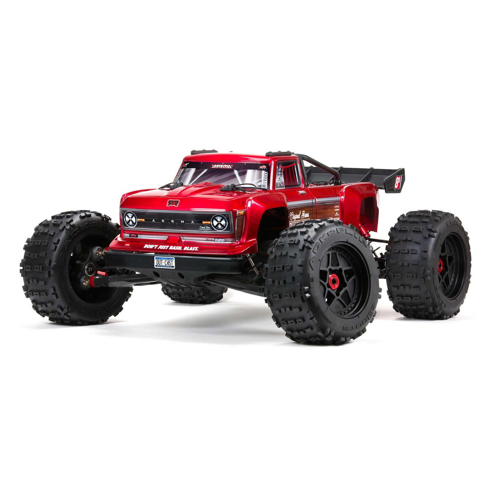 ARRMA ARA5810 Arrma Outcast 4X4 8S BLX 1/5th Stunt Truck Red