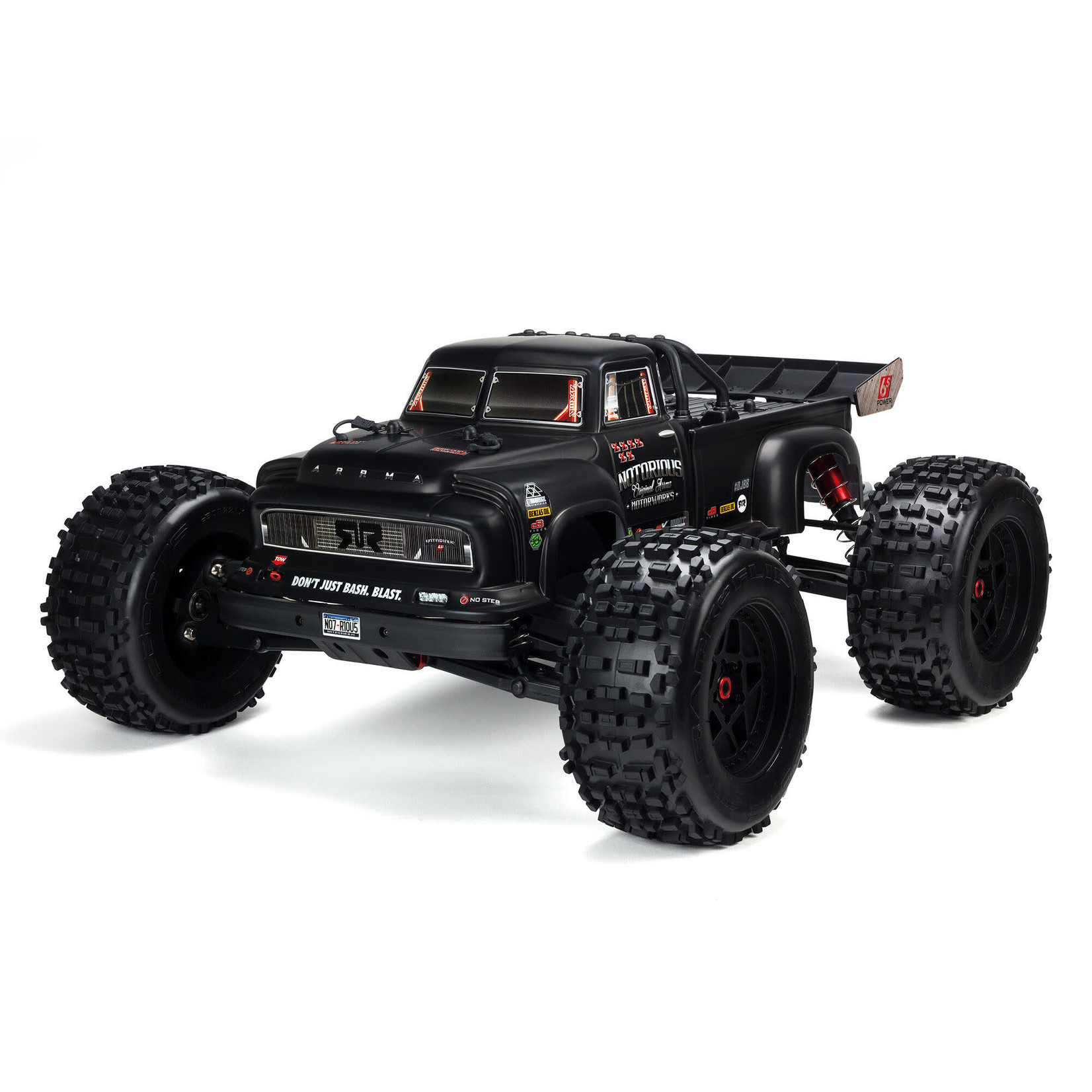 ARRMA ARA8611V5 Arrma 1/8 Notorious 6S 4WD Stunt Truck