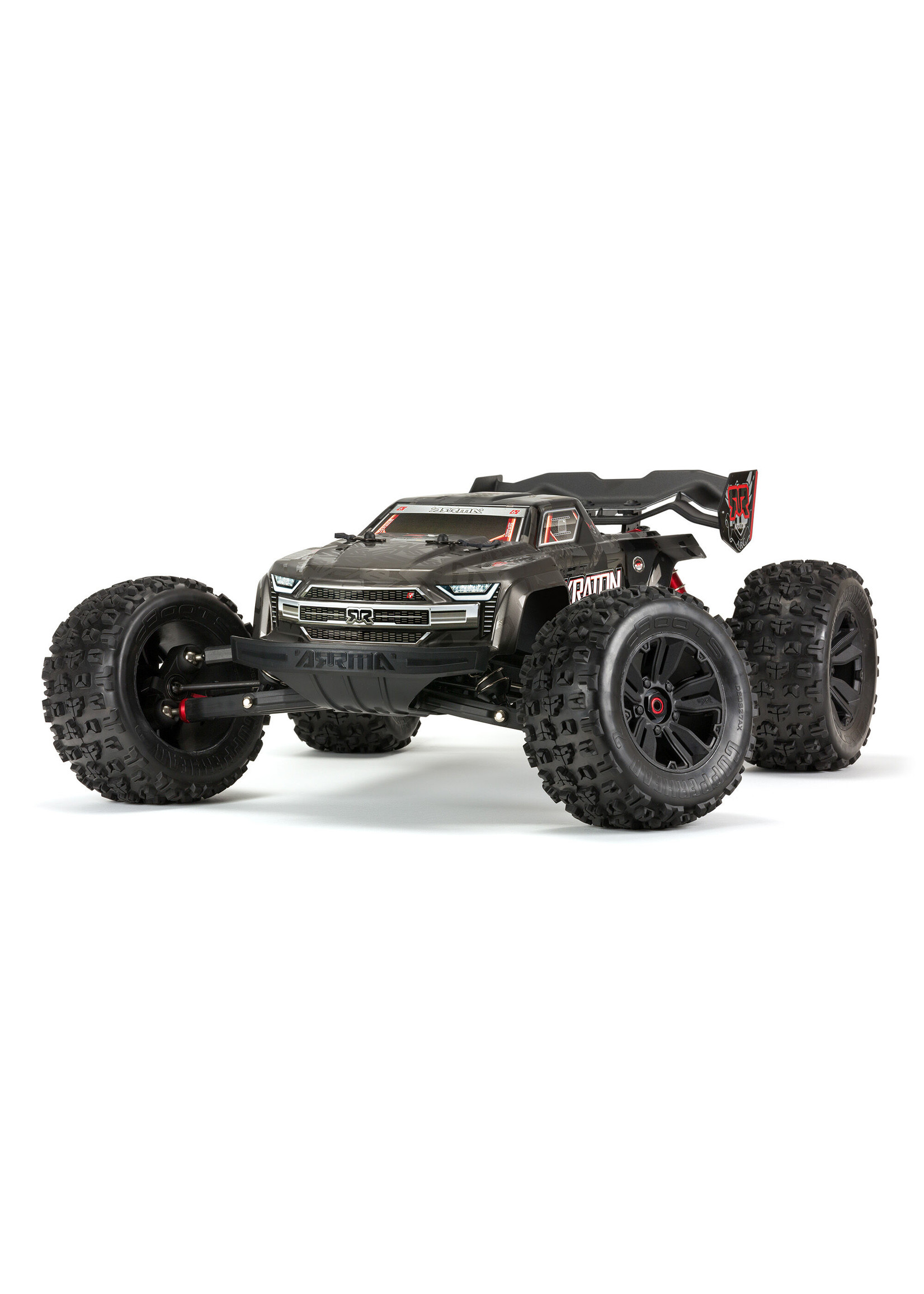 ARRMA ARA106053 Arrma Kraton 1/8 4WD EXtreme Bash Roller Speed Black