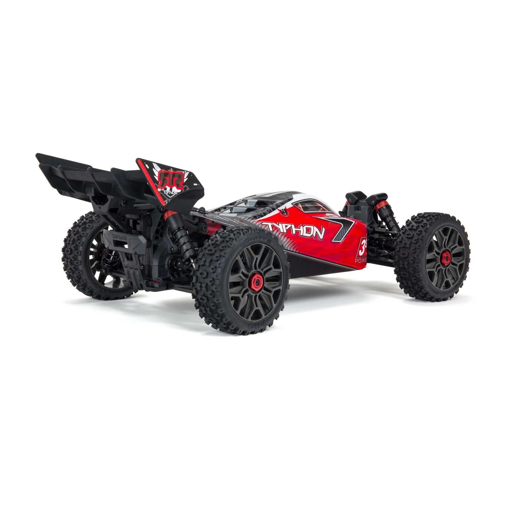 ARRMA ARA4306V3 Arrma Typhon 4X4 3S BLX Brushless 1/8th 4wd Buggy Red