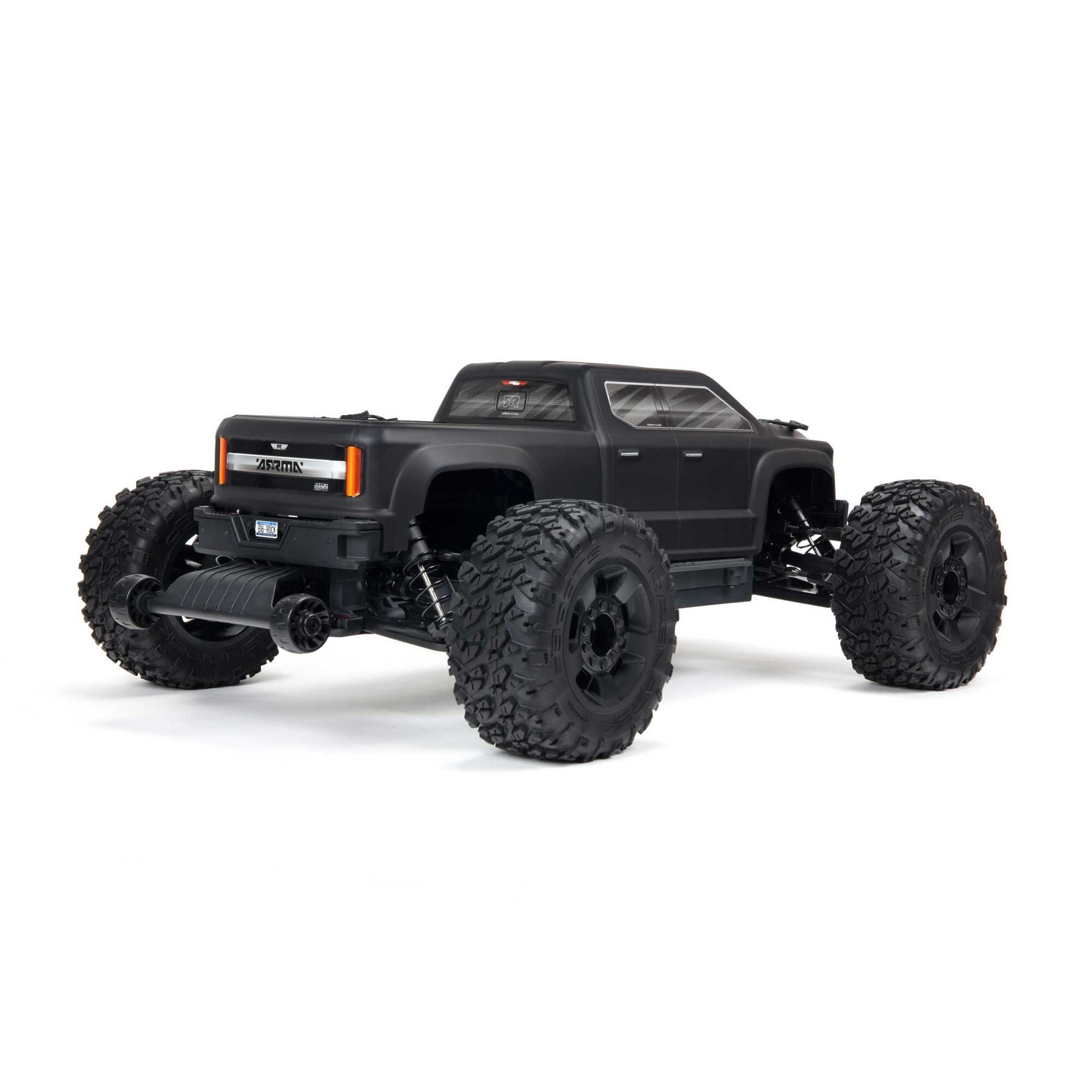 ARRMA ARA4312V3 Arrma Big Rock 4X4 3S BLX Brushless 1/10th 4WD MT Black