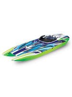 Traxxas TRA57046-4 Traxxas DCB M41 Widebody: Brushless 40' Race Boat with TQi Traxxas Link Enabled 2.4Ghz Radio System & Traxxas Stability Management (TSM)