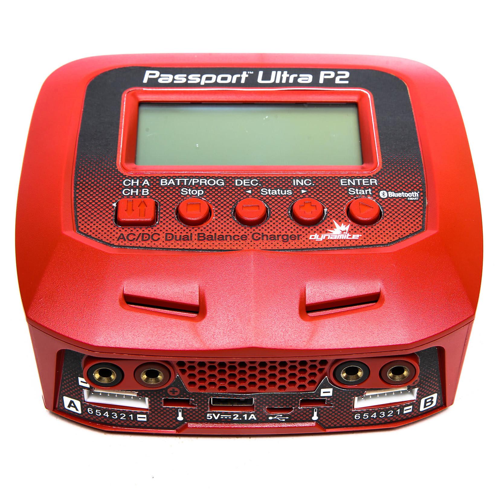 Dynamite DYNC3016 Dynamite Passport P2 AC Plus 2 Port AC/DC Multi-Charger