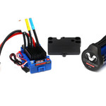 Traxxas TRA3350R Traxxas Velineon VXL-3S Brushless Power System, Waterproof (Includes VXL-3S Waterproof ESC, Velineon 3500 Motor, And Speed Control Mounting Plate (Part #3725R))