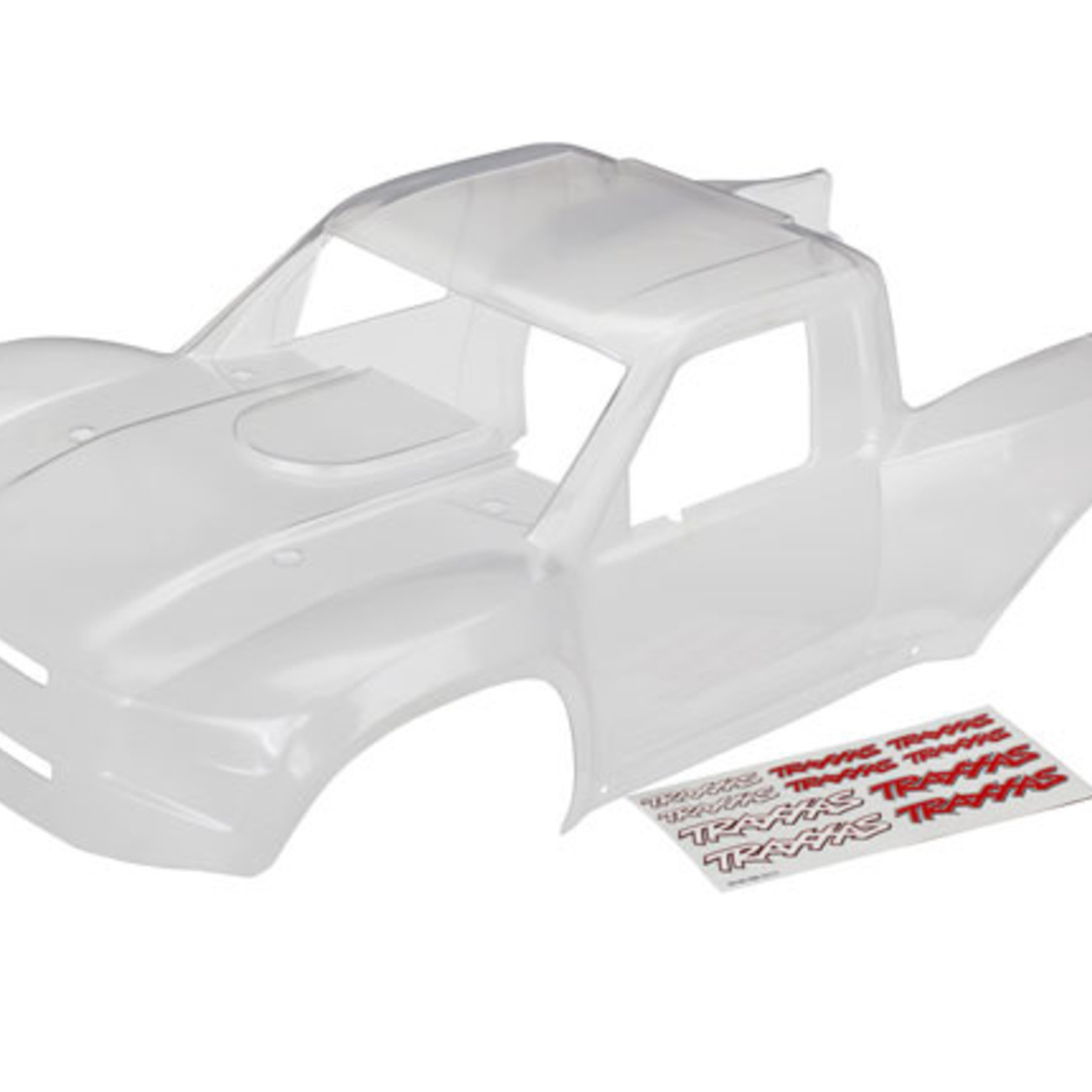 Traxxas TRA8511 Traxxas Body, Desert Racer (clear, trimmed, requires painting)/ decal sheet