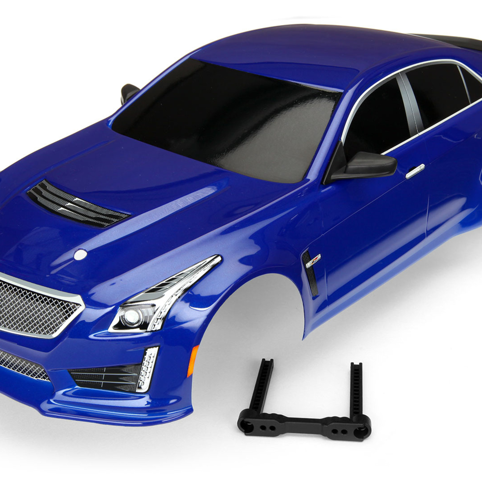 Traxxas TRA8391A Traxxas Body, Cadillac Cts-V, Blue (Painted, Decals Applied)