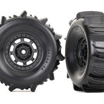 Traxxas TRA8475 Traxxas Tires And Wheels, Assembled, Glued (Desert Racer Wheels, Paddle Tires, Foam Inserts) (2)