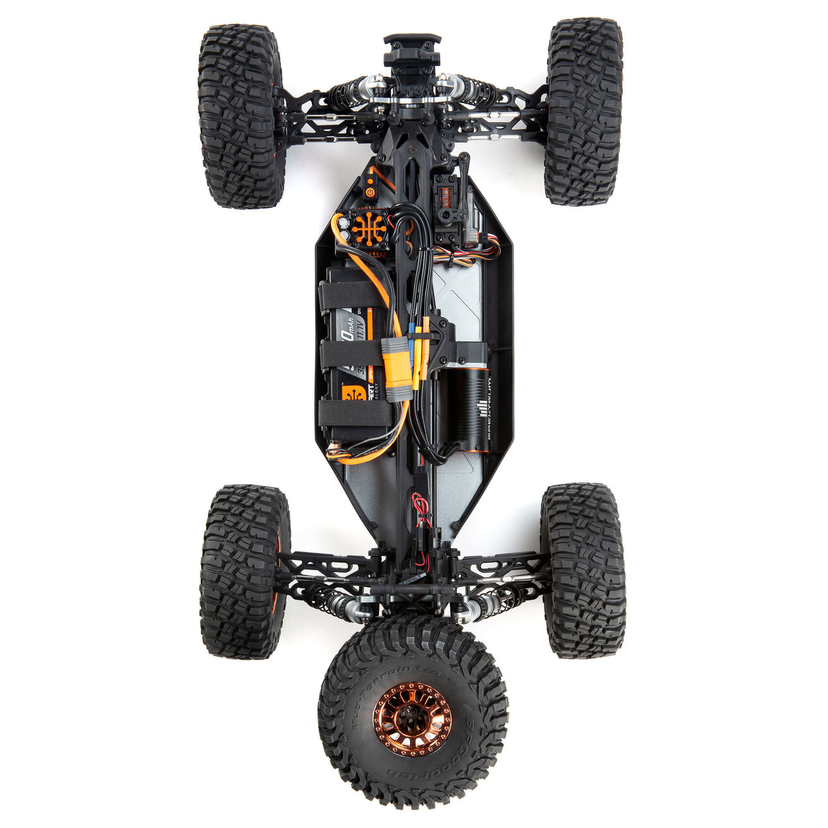 Losi LOS03028 Losi 1/10 Lasernut U4 4WD Brushless RTR with Smart and AVC
