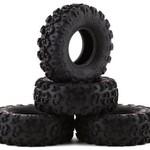 Axial AXI40003 Axial 1.0 Rock Lizards Tires (4pcs): SCX24