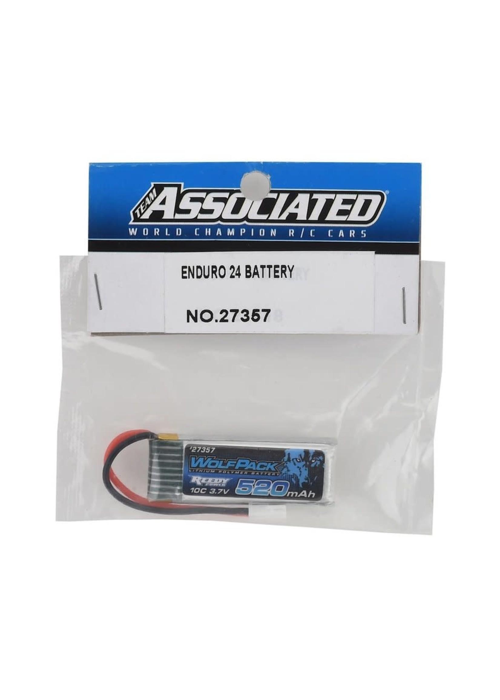 Team Associated ASC27357 Team Associated WolfPack 520mAh 3.7V 10C LiPo Battery