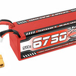 Team Corally COR49430 Team Corally 6750mAh 14.8v 4S 50C Hardcase Sport Racing LiPo Battery with Hardwired XT90 Connector