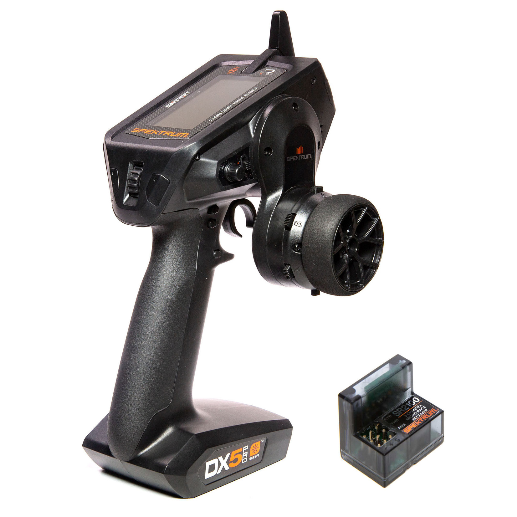 Spektrum SPM5025 Spektrum DX5 Pro 2021 5-Channel DSMR Transmitter with SR2100