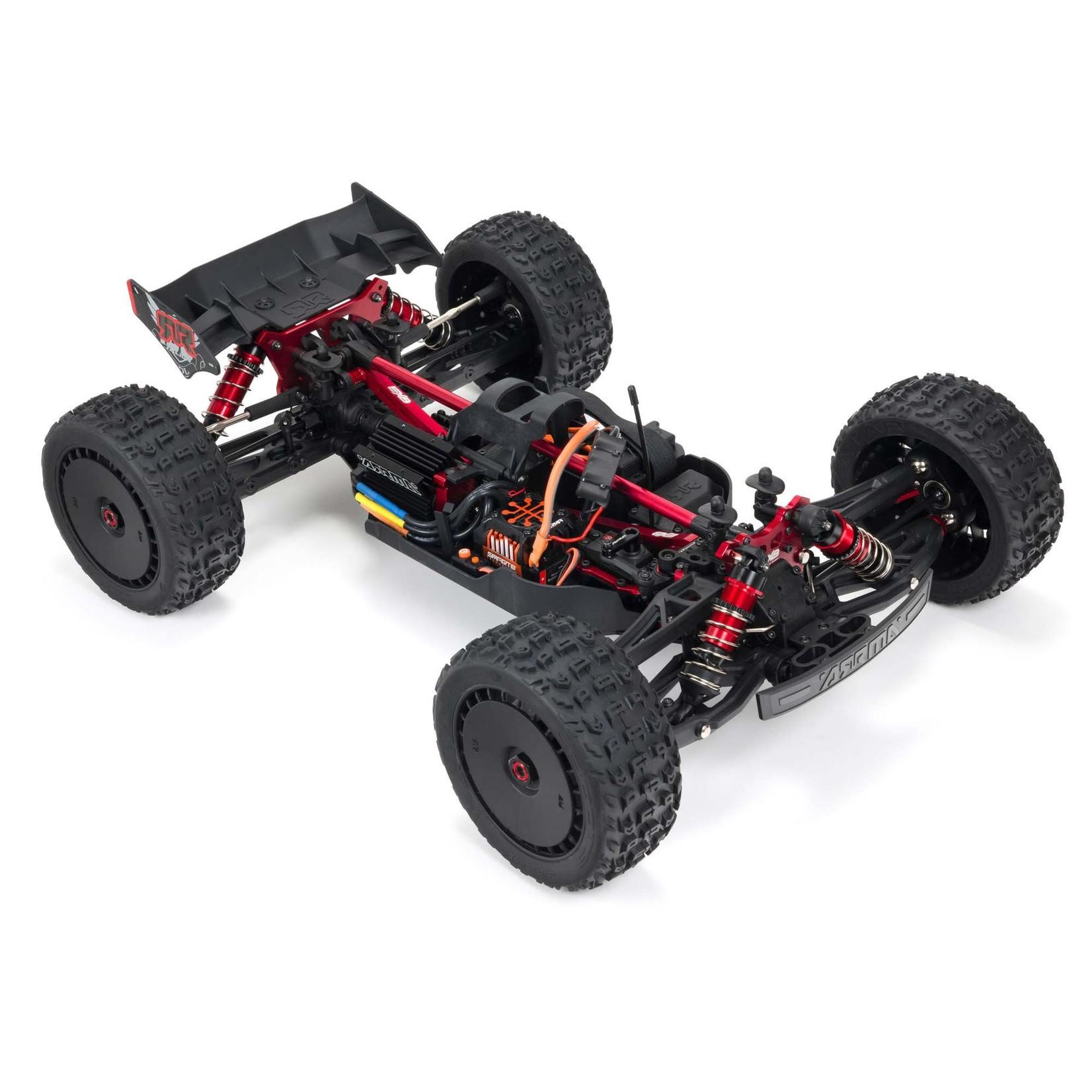 ARRMA ARA8707 ARRMA 1/8 TALION 6S BLX 4WD EXtreme Bash Speed Truggy RTR, Black