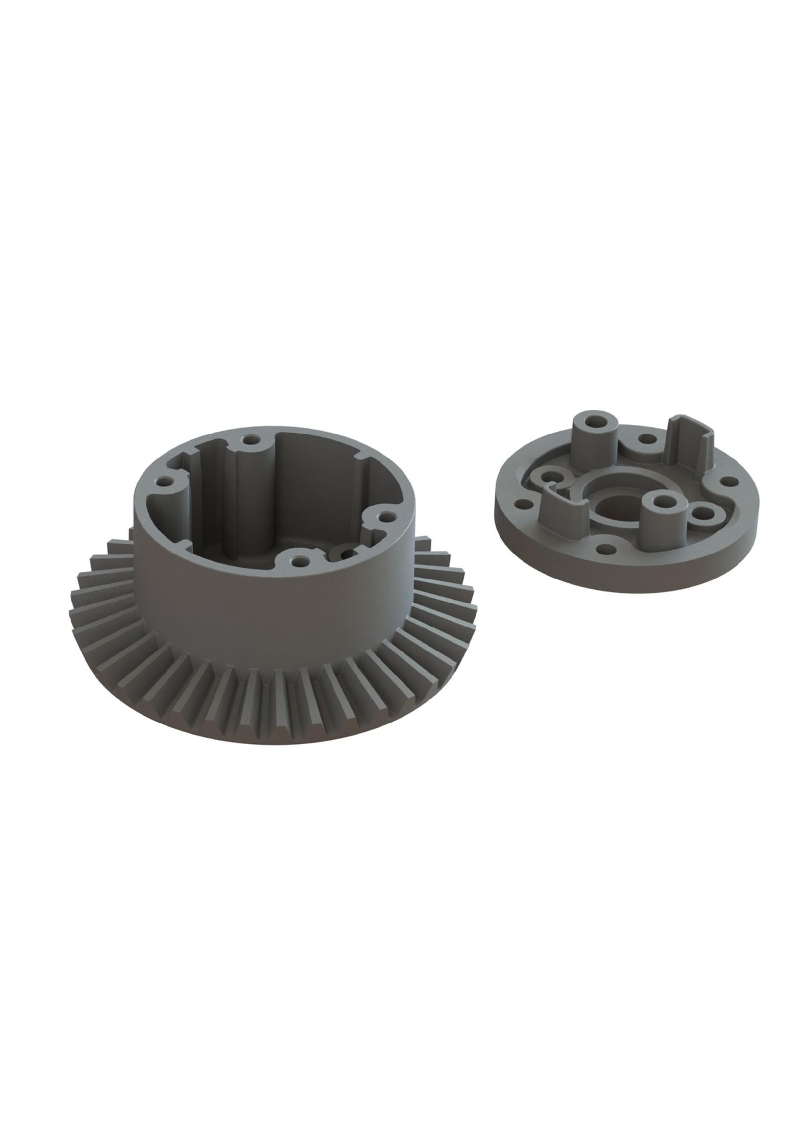 ARRMA AR310872 Arrma Diff Case Set 37T Main Gear BLX 3S