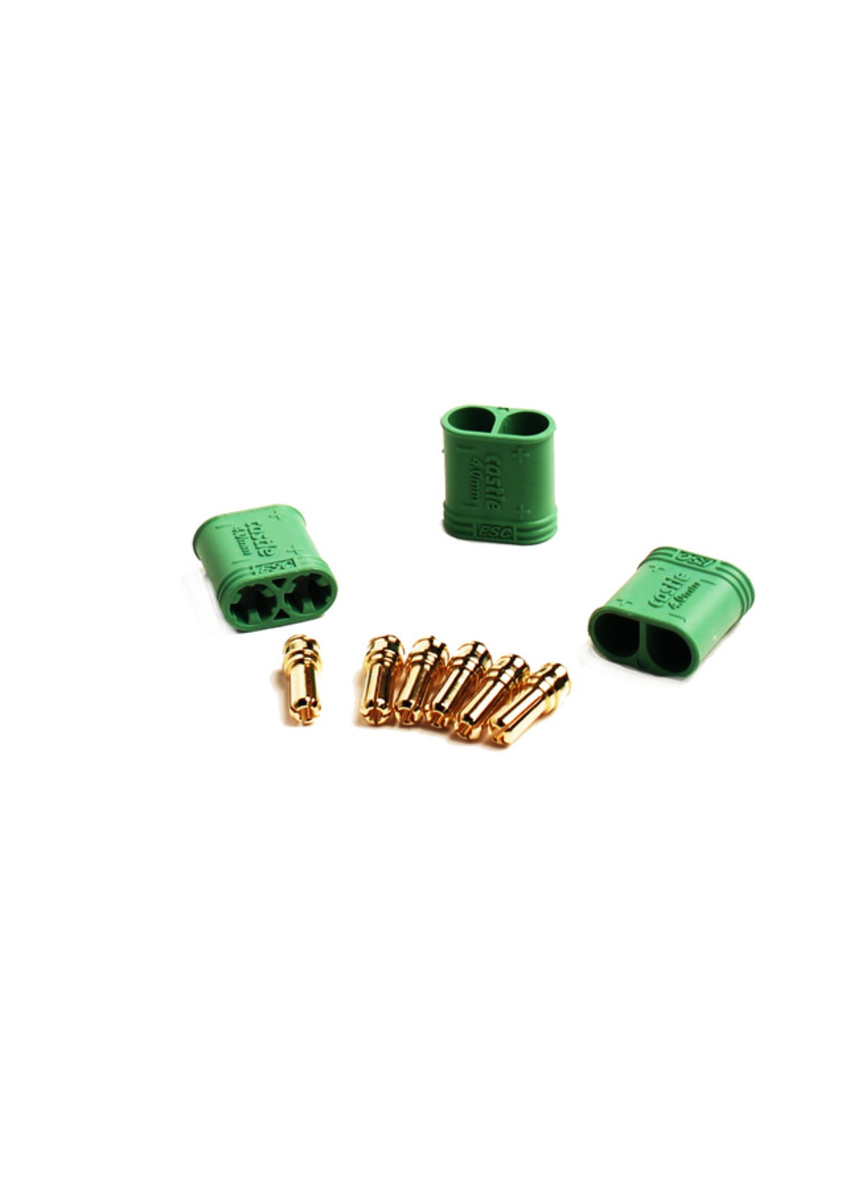 Castle Creations CSE011-0075-00  4.0mm Polarized Connectors-Male Multi-Pack