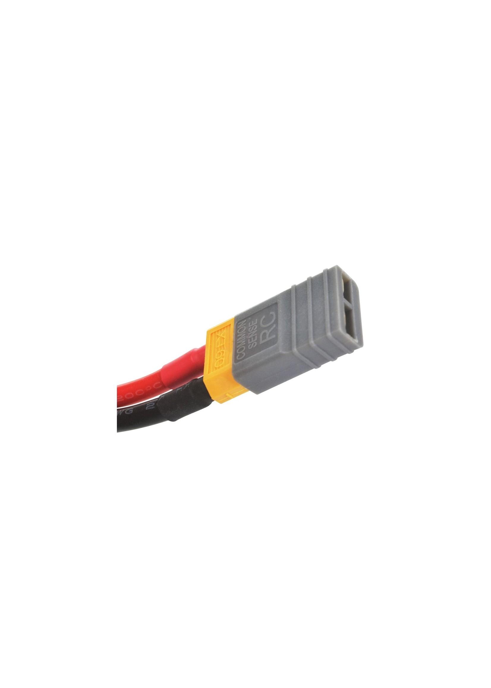Lectron Pro CSRC4S7600-75X Lectron Pro 14.8V 7600mAh 75C Hard Case Lipo Battery with XT60 Connector