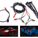 Traxxas TRA9380  LED light harness/ power harness/ zip ties (9) (fits #9311 body)