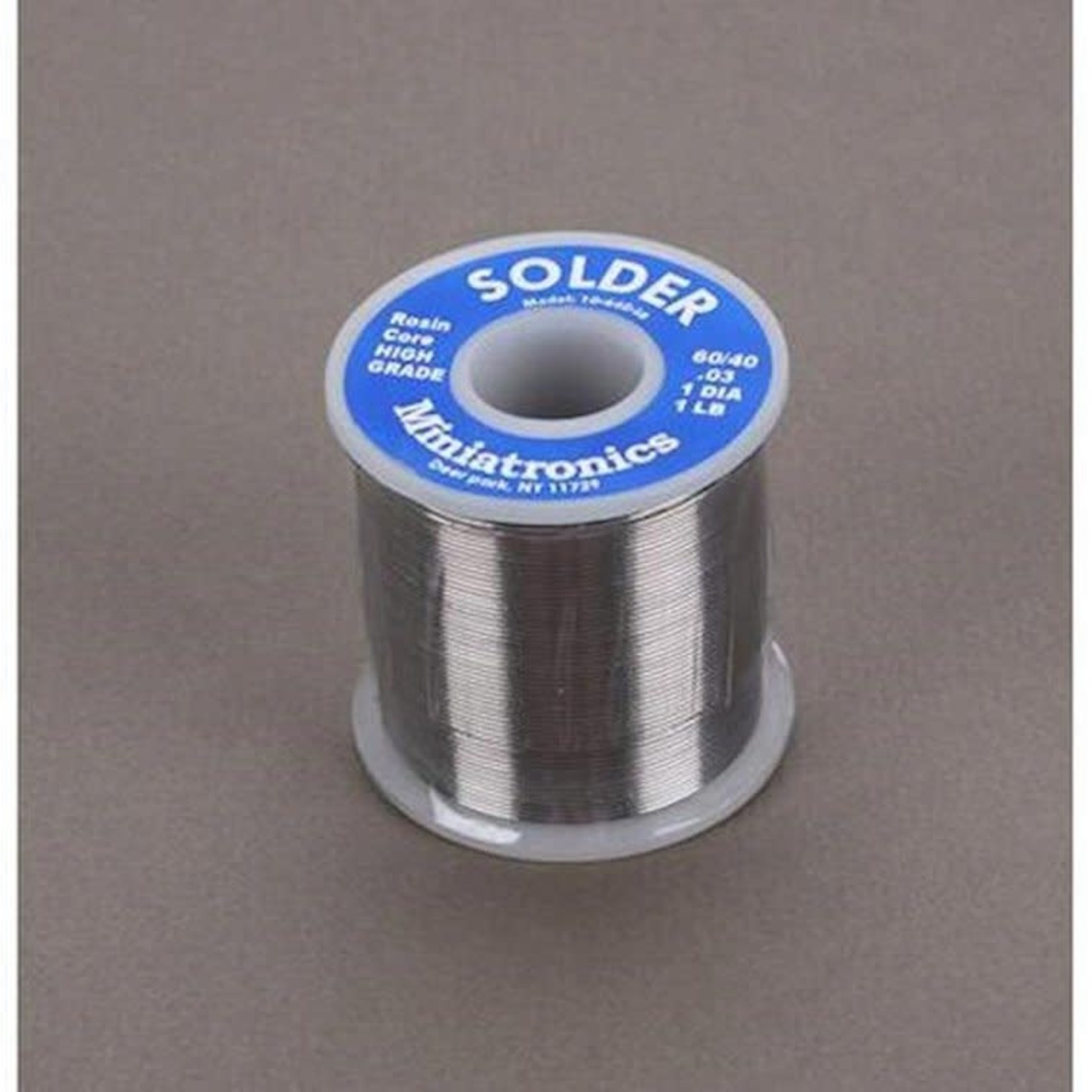 Miniatronics MNT1064016 Miniatronics Corp Rosin Core Solder 60/40, 1 lb