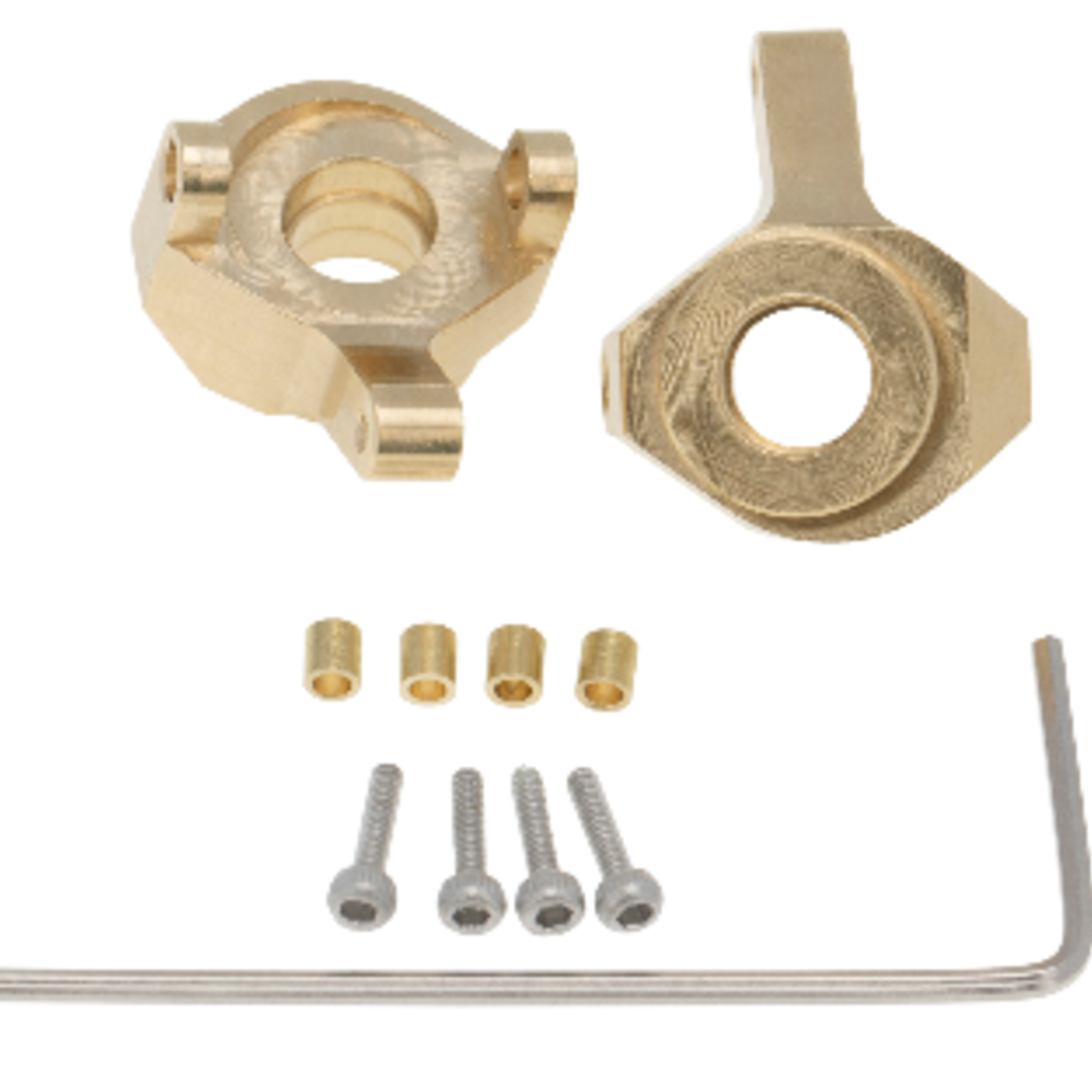 Hobby Details DTSCX24-1 Hobby Details Axial SCX24 Brass Counterweight Steering Cup 1 set 8 g