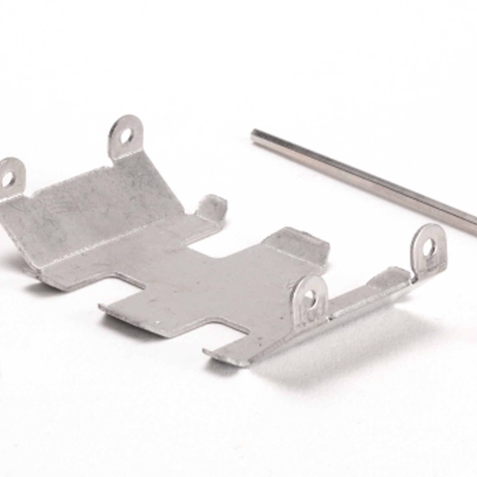 Hobby Details DTSCX24-2 Hobby Details Axial SCX24 Stainless Steel Chassis Armor Guard Plate 1pc