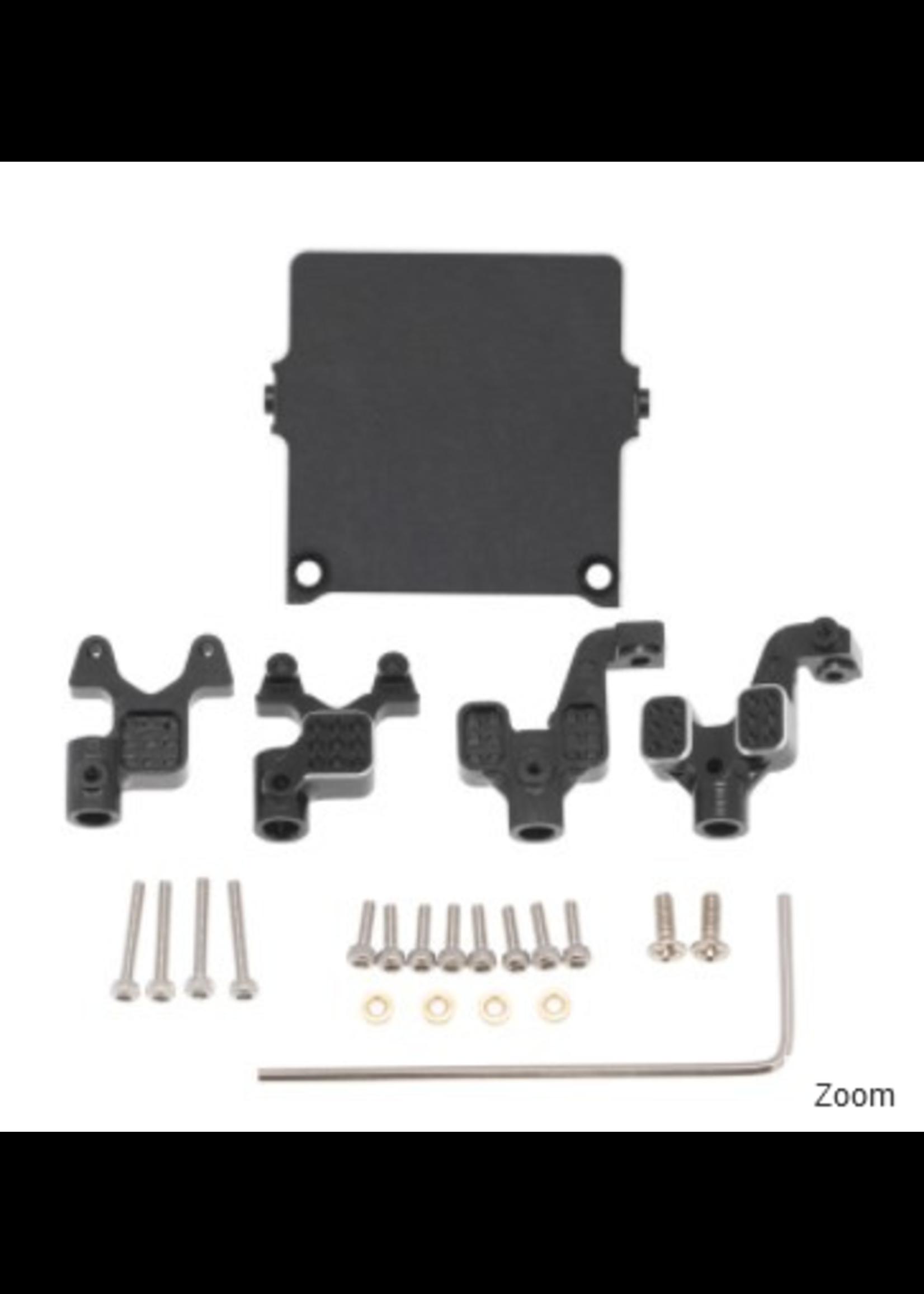 Hobby Details DTSCX24-12 Hobby Details Axial SCX24 Aluminum Front Rear Suspension Bracket Metal Shock Mount 1set