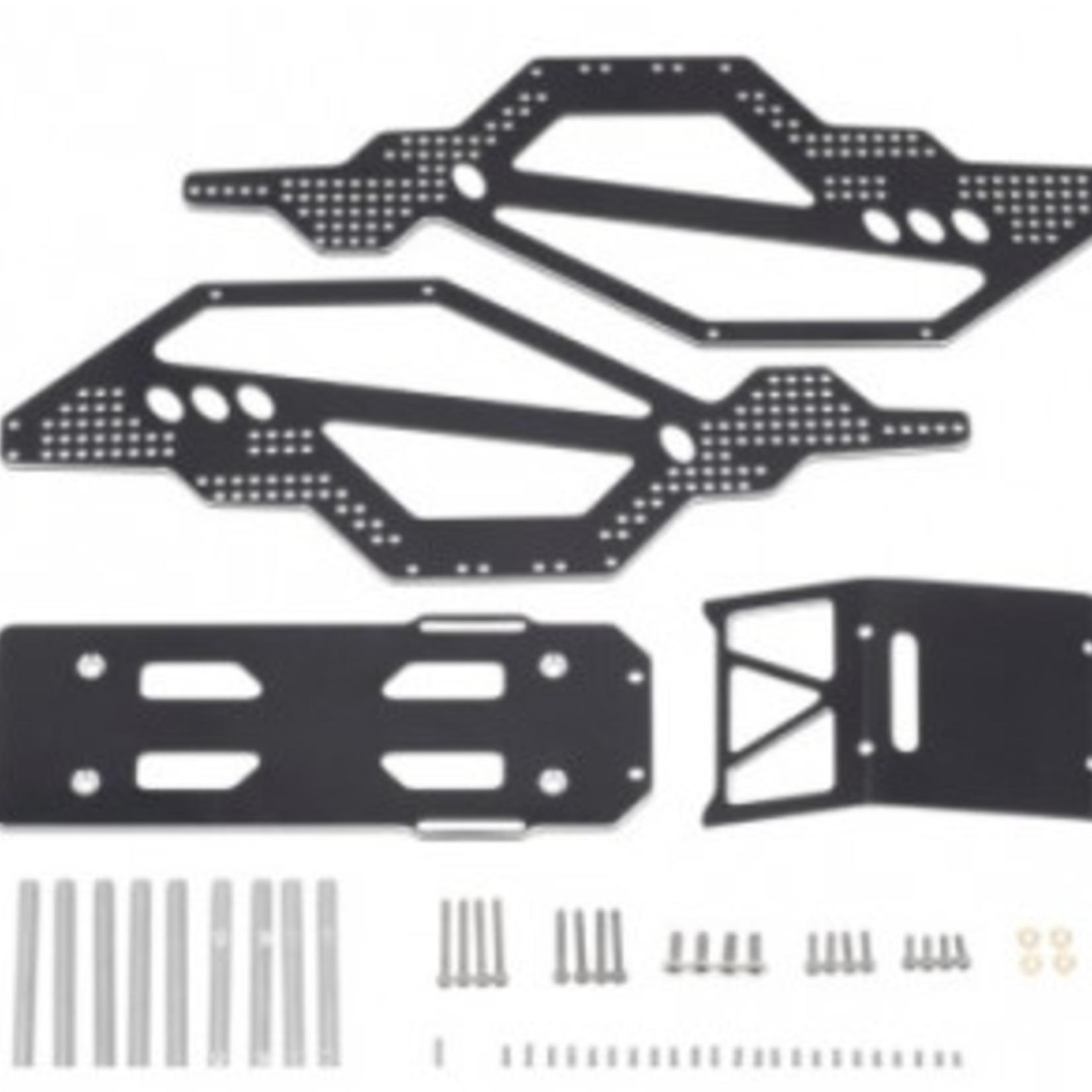 Hobby Details DTSCX24-37 SCX24 Aluminum Chassis Frame Conversion Bars, Deadbolt