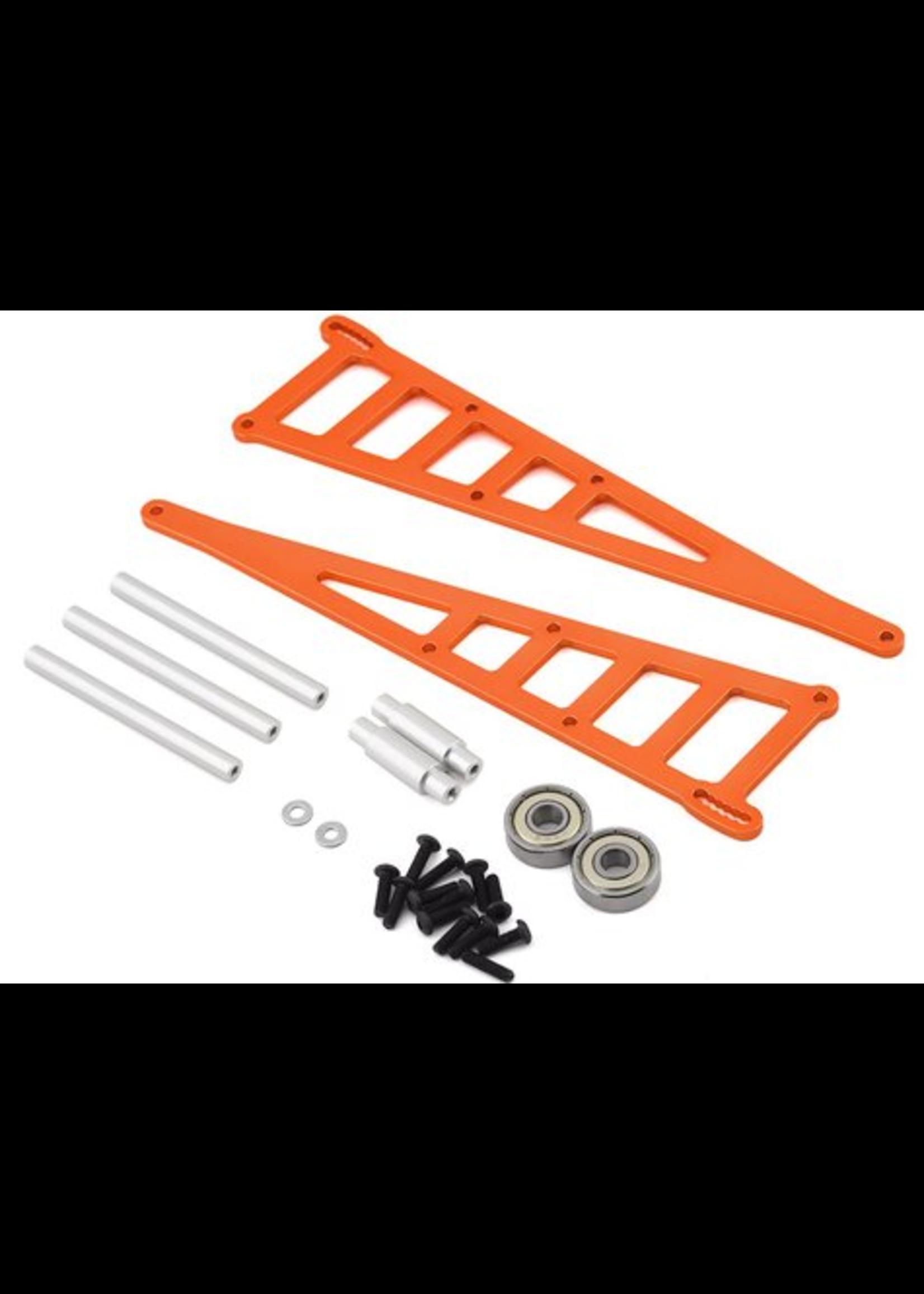 ST Racing Concepts SPTST3678WO ST Racing Concepts CNC Machined Aluminum Wheelie bar kit for Slash 2WD/Rustler/Bandit (Orange)