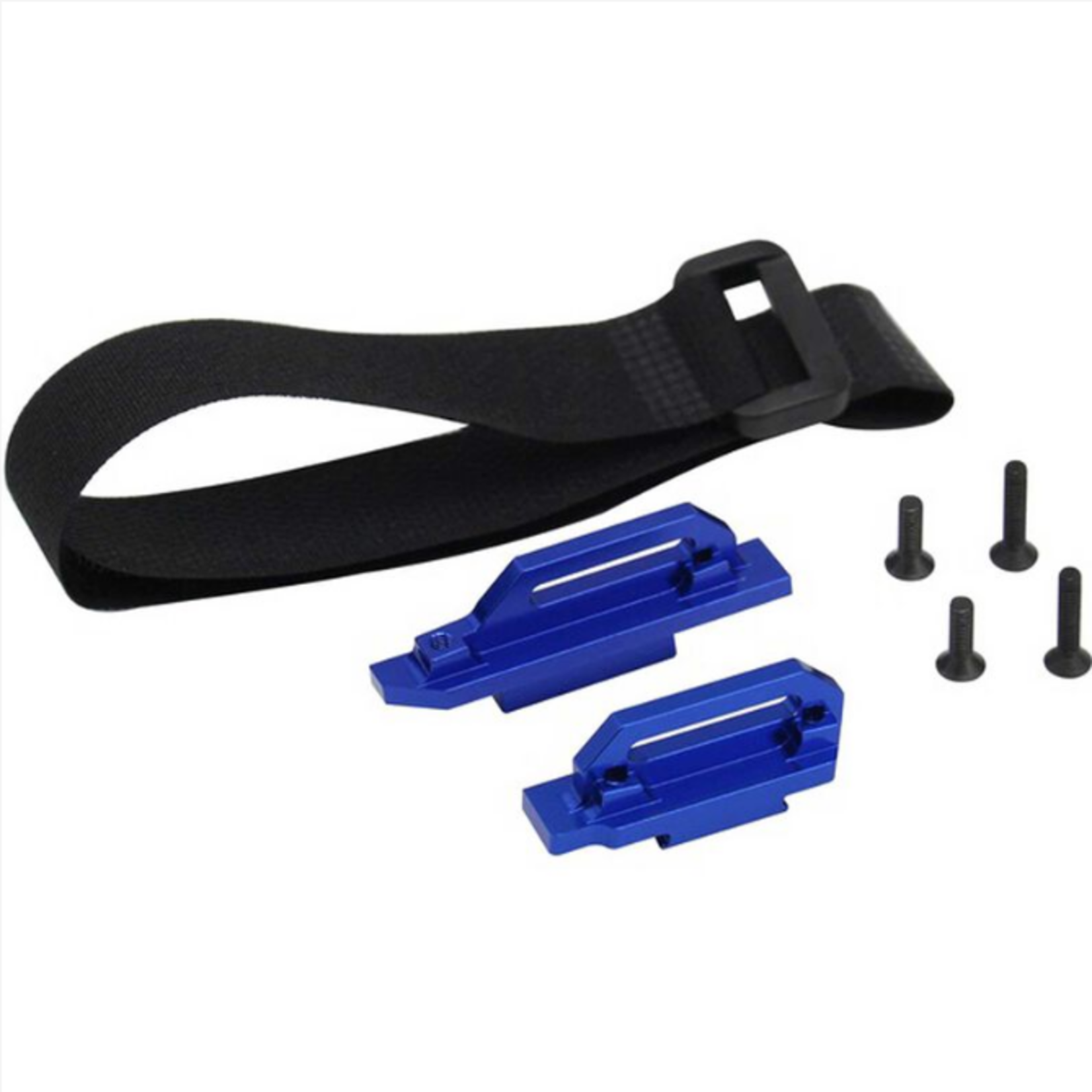 Hot Racing HRALCF126X06 Hot Racing LCG chassis Tall Battery Hold-Downs - Slash 4x4