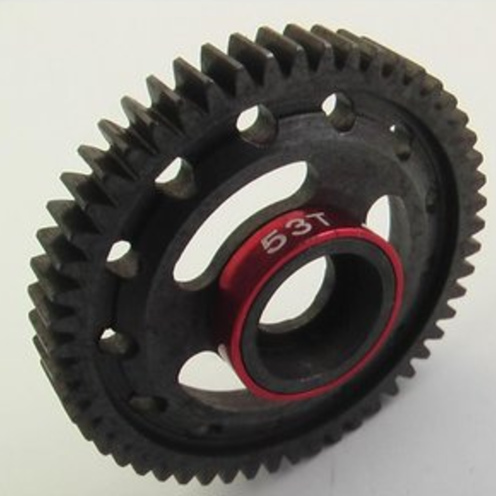Hot Racing HRASVXS853 Hot Racing Steel Spur Gear, 53 Tooth, Red for Traxxas 1/16 Scale