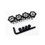 Hot Racing HRAWH17HS01 Hot Racing Hex Hub Adapters, 12mm to 17mm w/ 6mm Offset